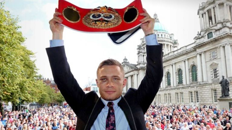Great news as UTV Ireland confirm they will broadcast Carl Frampton's title fight