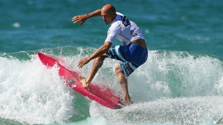 World's greatest surfer, and worst Baywatch actor, announces retirement