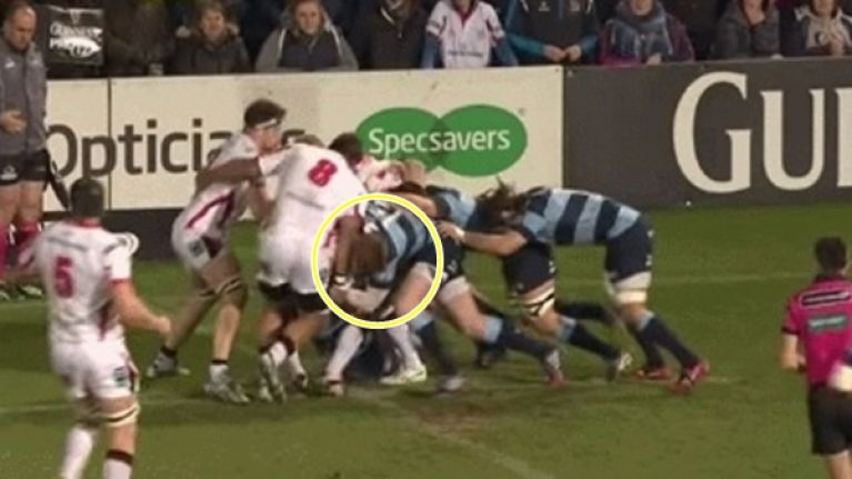 Welsh player lost 48 hours of memory and forgot he was in Belfast after this crunching blow