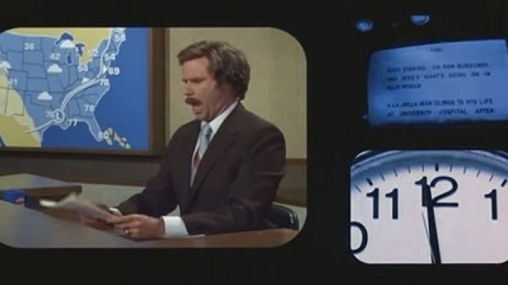 Video: Jordan Spieth pulls off uncanny Ron Burgundy impression before David Letterman appearance