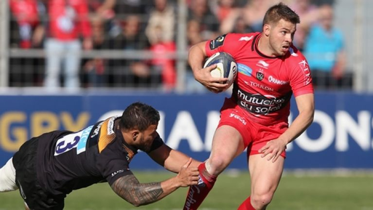 Drew Mitchell: from flirting with Leinster to Côte d'Azur living with Toulon