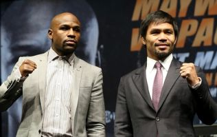 Mayweather-Pacquiao on track to shatter pay-per-view records
