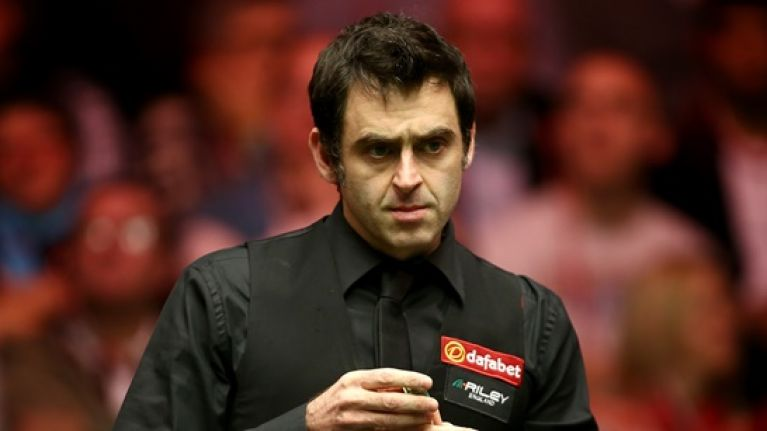 Jamie Roberts got a kick out of Ronnie O'Sullivan's underwhelming day in Cardiff