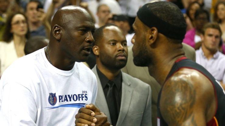 Late-night Lebron James vs Michael Jordan college debate ends in assault and 'terroristic threats'
