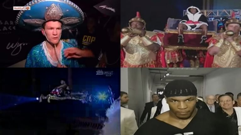 WATCH: The five best and five worst boxing entrances of all time