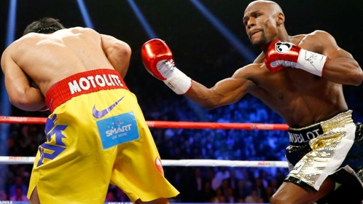 The gate records from Mayweather v Pacquiao are absolutely staggering
