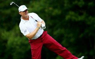 Ernie Els looks to be facing a race against time to get back for the Irish Open