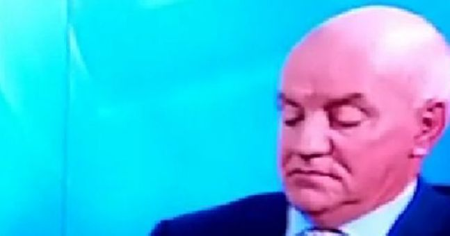 VINE: Cyril Farrell caught taking a little disco nap on the Sunday ...