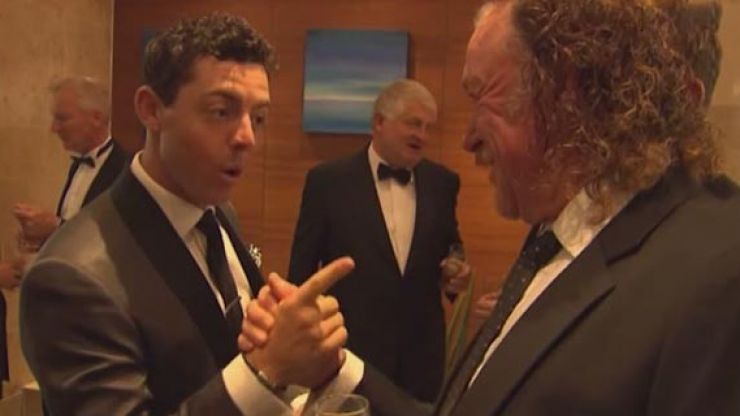 Video: Rory McIlroy shares everyone's stance on all-round hero Miguel Angel Jimenez
