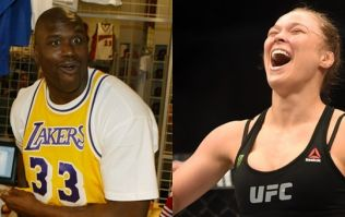 Shaquille O'Neal puts his giant foot in his giant mouth with Ronda Rousey comment