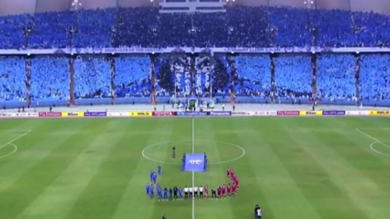 WATCH: Al-Hilal supporters pull off freakishly good Mortal Kombat mosaic