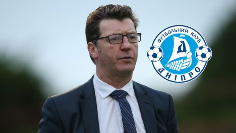 PIC: Dnipro's Wikipedia page would lead you to believe Roddy Collins is in charge