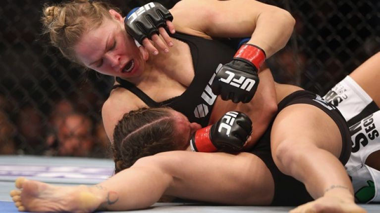 Ronda Rousey Talks About The Wardrobe Malfunction Dangers That