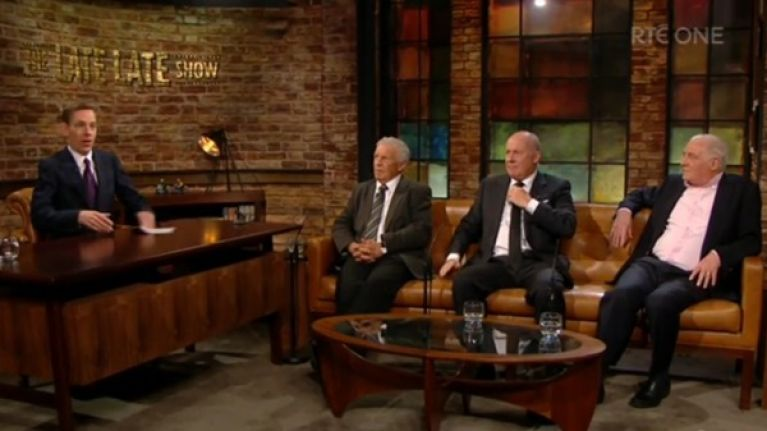 The Late Late Show paid a very special tribute to Bill O'Herlihy tonight