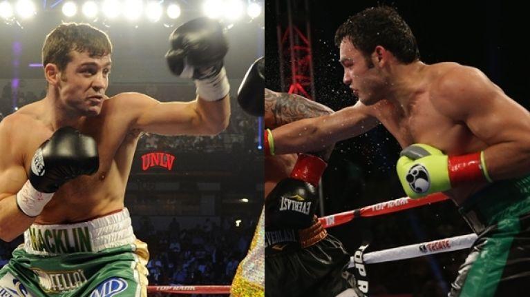 Talks between Matthew Macklin and Julio Cesar Chavez Jr fight are underway