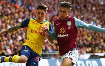 78cdc7e11 Scapegoat Jack Grealish slaughtered on Twitter after Arsenal annihilate  Villa