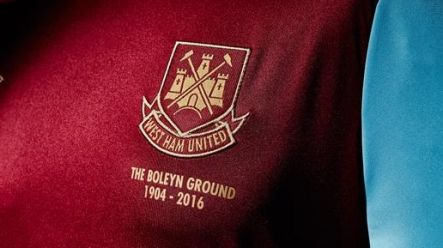 Pic: We're big fans of West Ham's new retro home kit