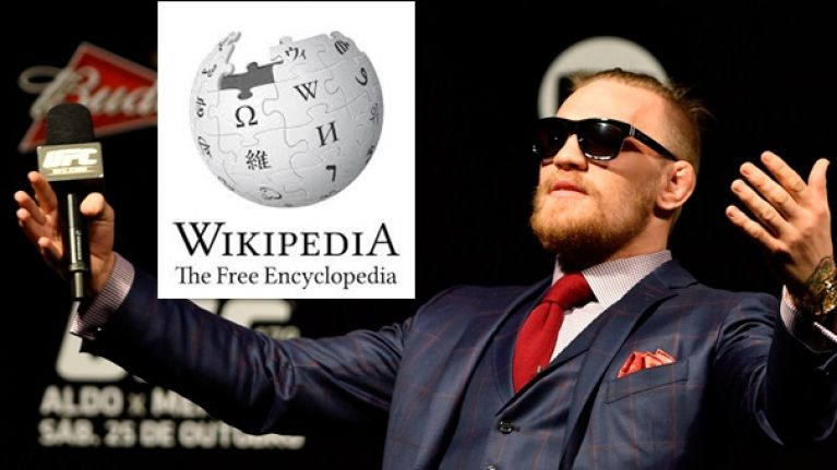 PICS: Wikipedia would lead you to believe that UFC 189 is now a McGregor-less card