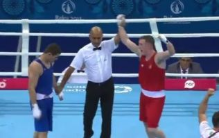 Michael O'Reilly upsets the odds to win gold at European games