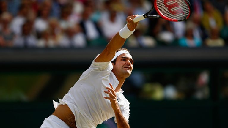 Vine: Roger Federer ripped out Andy Murray's heart with a backhand for the ages