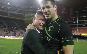 Rugby hardman Bakkies Botha proved yesterday that real men actually do cry