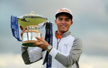 One of Rory McIlroy's biggest rivals won the Open Championship warm-up event