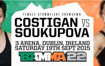 Limerick's Catherine Costigan set to make history with BAMMA debut