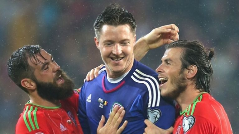 It seems that Wales, Serbia and Austria were even happier with Ireland's World Cup group