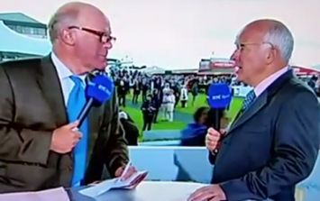 VIDEO: The hashtag #AskTed provides hilarious TV moment at Galway Races today