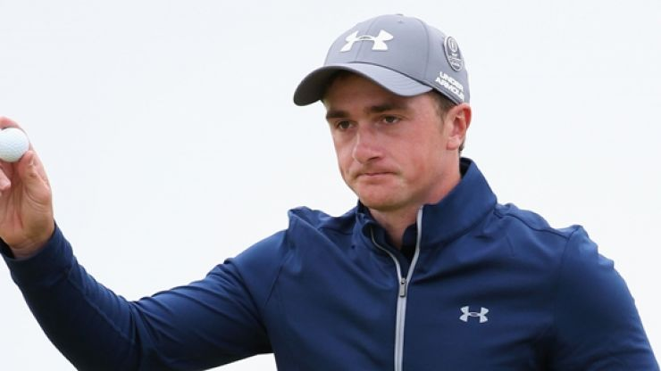 Paul Dunne earned Under Armour a crazy amount of money on Sunday
