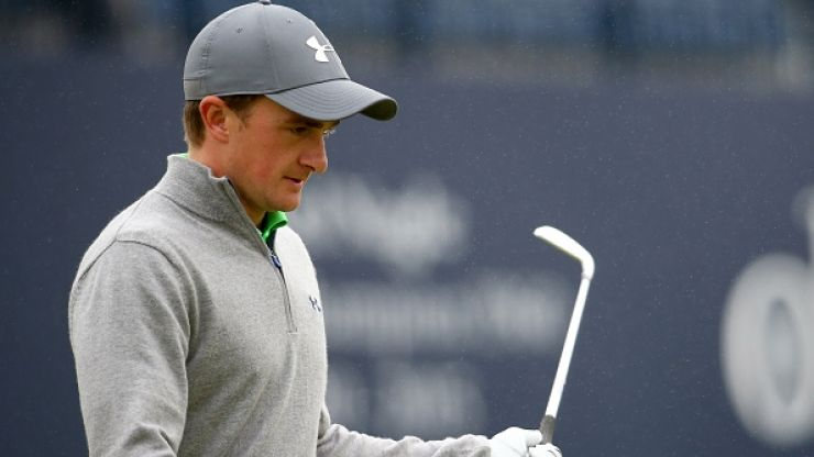 Paul Dunne has been speaking about the idiot who shouted 'potato' during The Open
