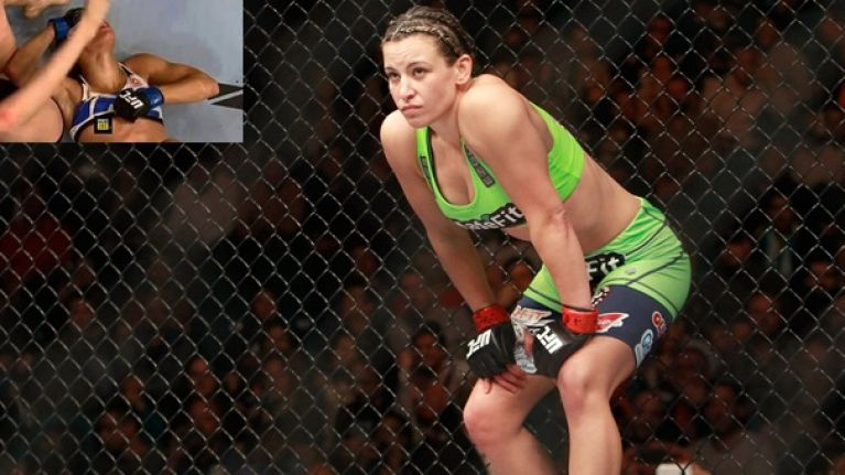 Miesha Tate Revealed She Doubled Down On Her Sports Bra After