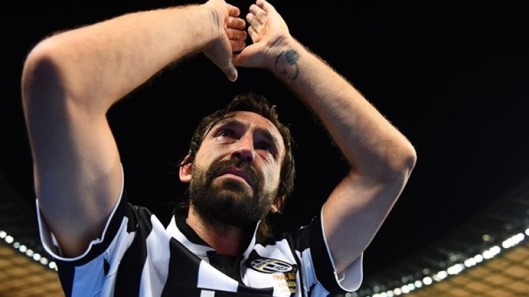 Andrea Pirlo reveals the toughest Englishman he's faced and