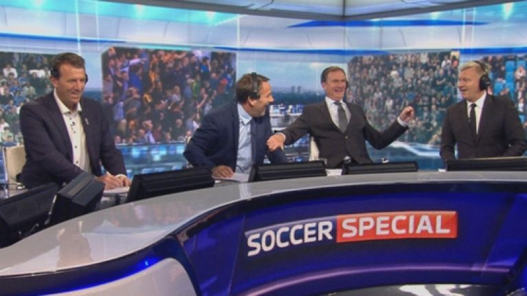 United and Villa fans will be pissed off with Paul Merson as Soccer
