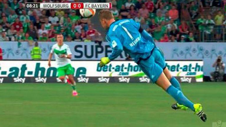 Vine: Manuel Neuer, oh how we've missed you