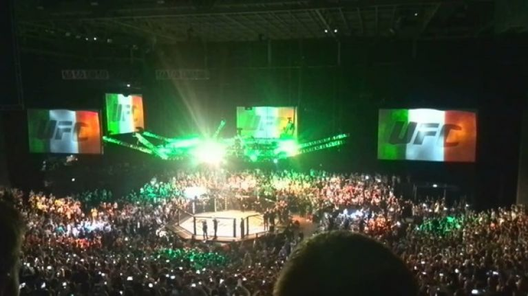Another fight has been added to UFC Dublin and it's a real doozy