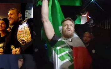 Conor McGregor explains how he convinced Dana White to let Sinead O'Connor sing at UFC 189