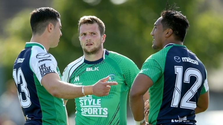 Triple injury blow for Connacht before new season even starts