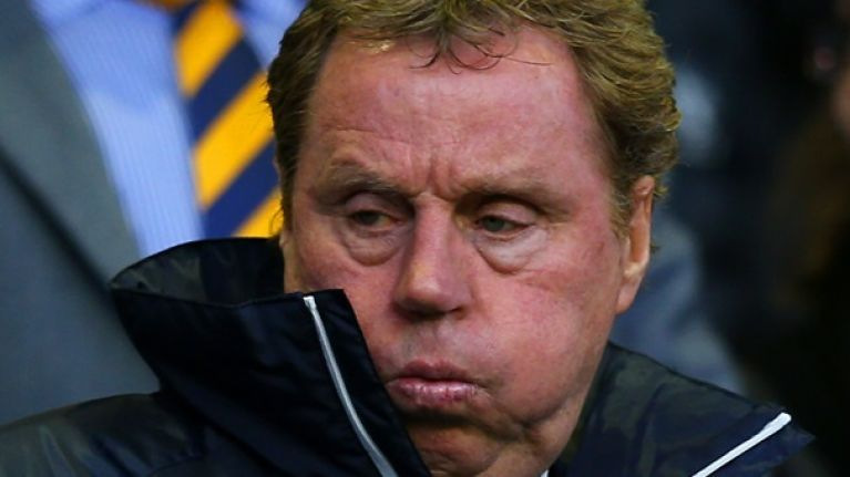 Harry Redknapp's unorthodox 'team-talk' that inspired Spurs' famous North London comeback