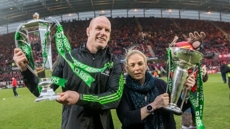 Niamh Briggs' passion for rugby would almost put Paul O'Connell to shame