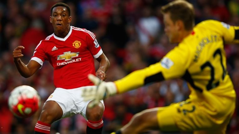 A psychic Manchester United fan predicted Anthony Martial's