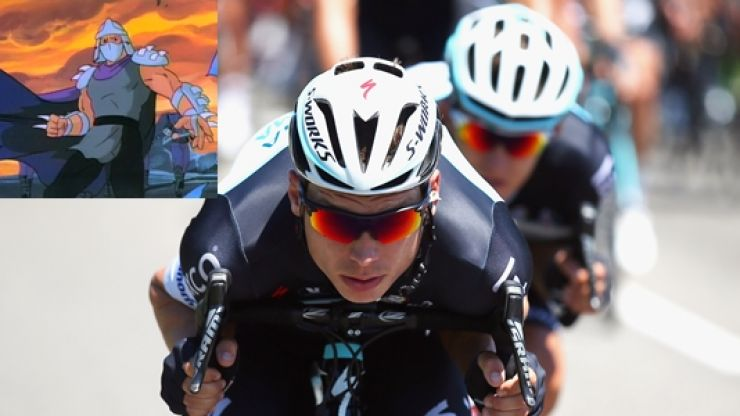 Tony Martin's shredded arse is a reminder to everyone that sandpaper does not belong on your saddle