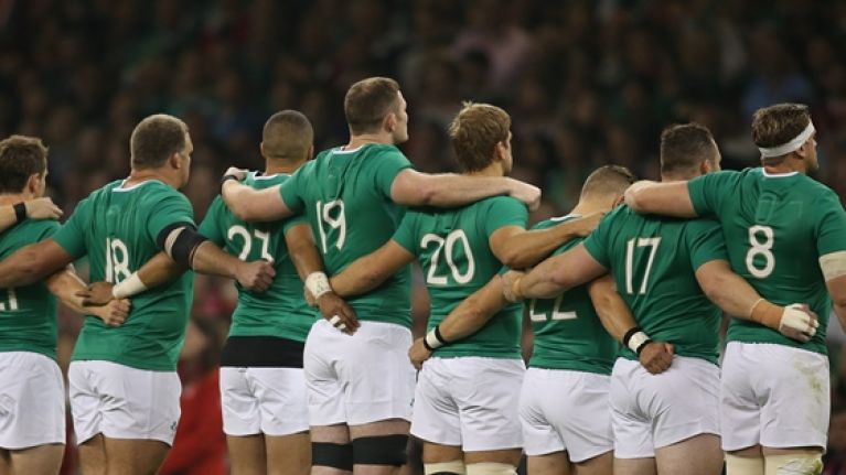 Ireland's team to face Romania will set a Rugby World Cup record