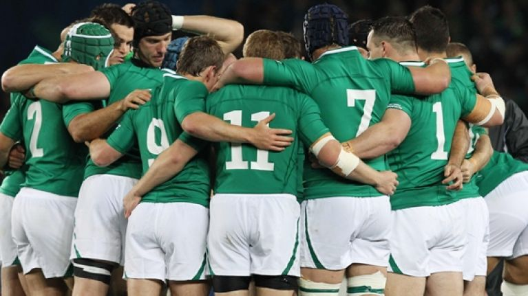One Irish player was sleeping with the enemy at the last World Cup