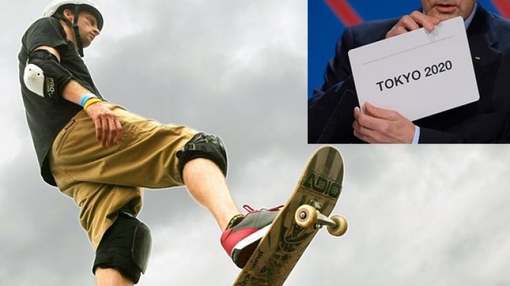 So, what's all this about the possibility of seeing skateboarding at the 2020 Olympics?