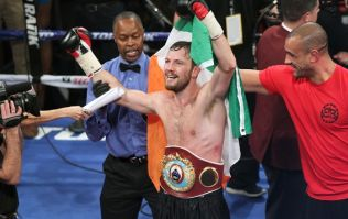 PIC: Peter Quillin apologises to Andy Lee as he fails to make weight for title shot