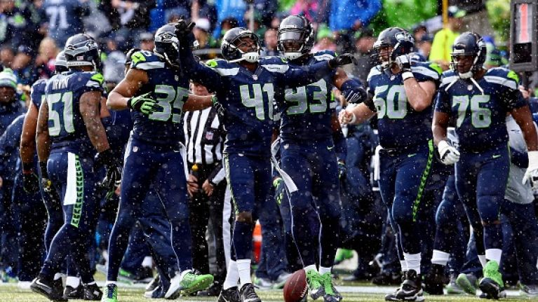 Vine: Seattle Seahawks run great fake field-goal touchdown play