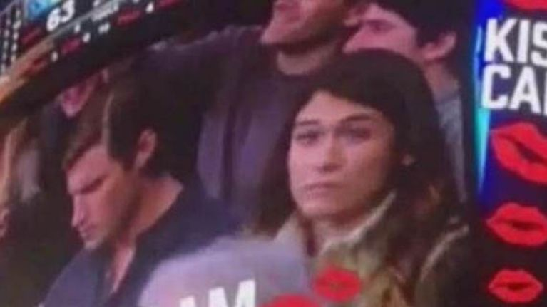 Video: Woman reacts perfectly to boyfriend's kiss-cam snub at NBA game