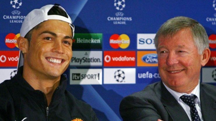 Cristiano Ronaldo has special message for Alex Ferguson after United return confirmed