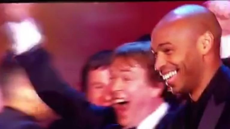 VINE: Who knew that Eastenders' Ian Beale is the biggest Thierry Henry fan this side of the Seine?